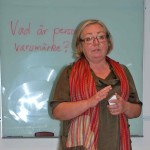 Viveka Eriksson, Damjournalen, föreläser för Höjdarna om personligt varumärke.