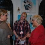 Mingel på Transformatorn. Pernilla Persson, Therese Loreskär, Ingela Agrell.