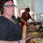 Annelie Lindqvist, Salong Skapa. Pizzabakning hos Huvudstorp No 4.