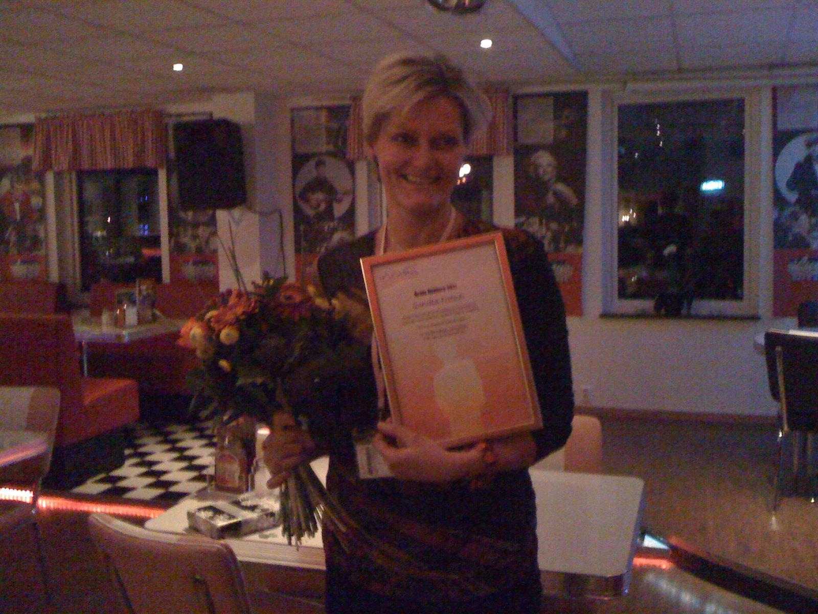 Gunilla Fritsch - Årets Höjdare 2011