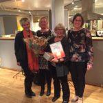 Fyra Höjdare! Ingela Agrell, Årets Höjdare 2014. Foto: Carol Sjögren