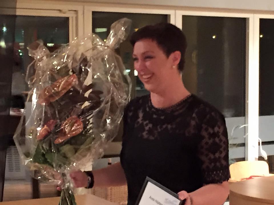 Jenny Lilja, Vardagshjälten, Årets Höjdare 2015