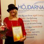 Anna Sjödin Årets Höjdare 2016